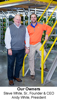 CEO  Steve White and President Andy White
